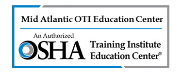 OSHA 501-Trainer course in Occupational Safety and Health Standards for General Industry | Mid Atlantic OSHA Training Institute Education Center